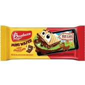 Biscoito Mini Wafer Chocolate 30g Bauducco