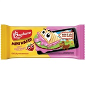 Biscoito Mini Wafer Morango 30g Bauducco
