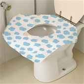 Protetor Descartável para Vaso Sanitário BB073 PT 12 UN Multikids Baby