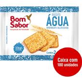 Biscoito de Água Sachê 8g CX 180 UN Bom Sabor
