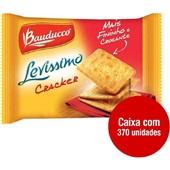 Biscoito Cream Cracker Levíssimo Sachê 8,5g CX 370 UN Bauducco