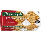 Biscoito Cream Cracker 200g 1 UN Piraquê