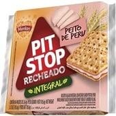 Biscoito Pit Stop Integral Peito de Peru 105,6g PT 4 UN Marilan