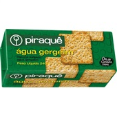 Biscoito Água Gergelim 200g 1 UN Piraquê