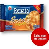 Biscoito Snacks Salgados Sachê 5g CX 180 UN Renata