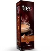 Cápsula de Café Espresso Ameno Tres 8g CX 10 UN 3 Corações