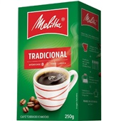 Café em Pó Tradicional 250g 1 UN Melitta