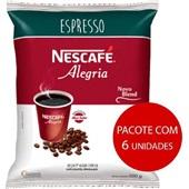 Café Solúvel Espresso Alegria 500g CX 6 PT Nescafé
