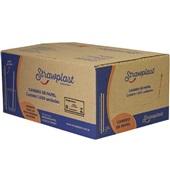 Canudo de Papel Biodegradável para Água e Suco 19,5cm Branco CX 1000 UN Strawplast