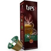 Cápsula de Chá de Hortelã Tres 2,5g CX 10 UN 3 Corações