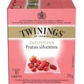 Chá Infusions de Frutas Silvestres Sachê 2g CX 10 UN Twinings
