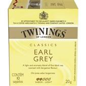 Chá Classics Earl Grey Sachê 2g CX 10 UN Twinings