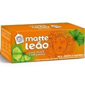 Chá Mate com Limão Sachê 1,6g CX 25 UN Leão