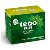 Chá Verde Sachê 1,6g CX 10 UN Leão