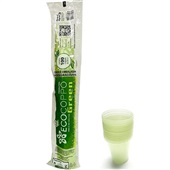 Copo Plástico Biodegradável 200ml Transparente PT 100 UN Ecocoppo Green