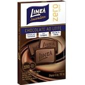 Chocolate ao Leite Zero 30g 1 UN Linea