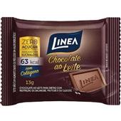 Chocolate ao Leite Zero 13g 1 UN Linea