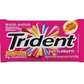 Goma de Mascar Sabor Tutti Frutti sem Açúcar 8g 1 UN Trident