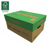Caixa de Papel Sulfite A4 75g 5000 Folhas Momento