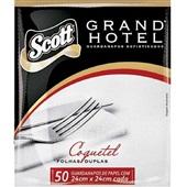Guardanapo Folha Dupla 23,8x21,8cm PT 50 FL Grand Hotel
