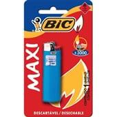 Isqueiro Maxi Cores Sortidas 1 UN Bic