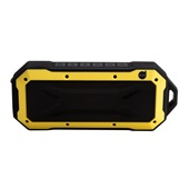 Caixa de Som Bluetooth 6W Amarelo 1 UN Dazz