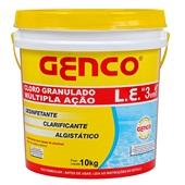 L.E. Cloro Granulado Múltipla Ação 3 em 1 GENCO®