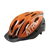 Capacete para Ciclismo com LED MTB 2.0 Laranja e Preto G BI173 1 UN Atrio
