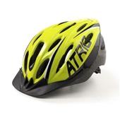 Capacete para Ciclismo com LED MTB 2.0 Verde Neon e Preto G BI169 1 UN Atrio
