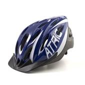 Capacete para Ciclismo com LED MTB 2.0 Azul e Branco G BI167 1 UN Atrio