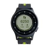 Monitor Cardíaco Sportwatch Choronus GPS Preto e Neon ES252 1 UN Atrio