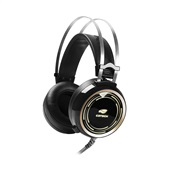 Headset Gaming Black Lite com Microfone Preto PH-G310BK 1 UN C3Tech