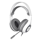 Headset Gaming Heron com Microfone Branco e Cinza PH-G701WHV2 1 UN C3Tech