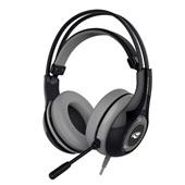 Headset Gaming Heron com Microfone Preto e Cinza PH-G701BKV2 1 UN C3Tech