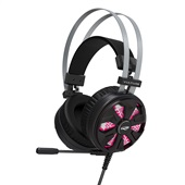 Headset Gaming Vulture com Microfone Preto PHG710BK 1 UN C3Tech