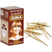 Palito de Dente CX 200 UN Gina