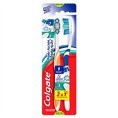 Escova Dental Tripla Ação Média Leve 2 Pague 1 Colgate