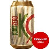 Refrigerante Kuat Guaraná Zero 350ml Lata 6 UN