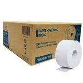 Papel Higiênico Folha Dupla Rolão 250m Celulose CX 8 RL Indaial