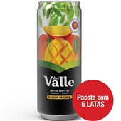 Suco Néctar de Manga 290ml 6 UN Del Valle