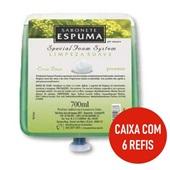 Sabonete Espuma Limpeza Suave Erva Doce 700ml CX 6 UN Premisse