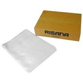 Envelope Saco Plástico A4 Sem Furos 0,12 230x310mm 1 UN Risana