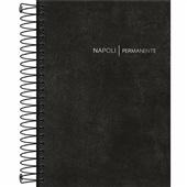Agenda 2020 Napoli Espiral Permanente 192 Folhas Preto 130x188mm 1 UN Tilibra