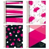 Agenda 2020 Love Pink Espiral 117x164mm Sortidas 176 FL Tilibra