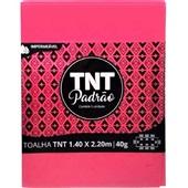 Toalha de Mesa TNT Padrão Rosa Pink 1,40x2,20m 1 UN Grampline