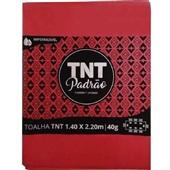 Toalha de Mesa TNT Padrão Vermelho 1,40x2,20m 1 UN Grampline