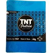 Toalha de Mesa TNT Padrão Azul 70x70cm PT 5 UN Grampline