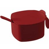 Açucareiro Due Casual Vermelho Bold 300ml 1 UN Coza