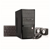 Kit Desktop Intel Celeron 1TB 4GB Linux com Caixa de Som Mouse e Teclado USB Preto DT021 Multilaser