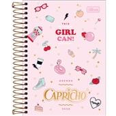 Agenda 2020 Capricho Espiral Feminina B 130x188mm 176 FL Tilibra